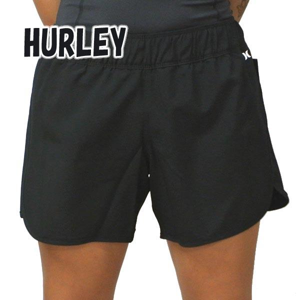 HURLEY/ハーレー レディース LADYS SUPERSUEDE BEACHRIDER 5 BOARDSHORTS BLACK 女性用 サーフパンツ ボードショーツ サーフトランクス 海パン 水着 CW3135 [返品、交換及びキャンセル不可]