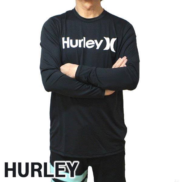 HURLEY/ハーレー 長袖ラッシュガード ONE&ONLY SURF SHIRT L/S RASHGUARD 010 長袖サーフTシャツ サーフィン 水着 男性用 894629