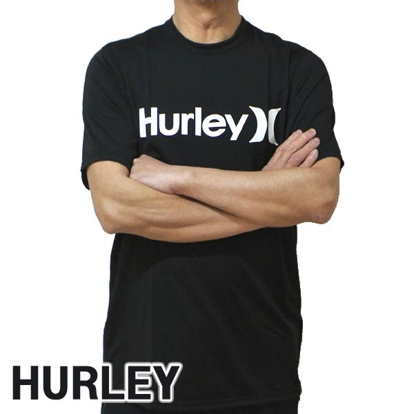HURLEY/ハーレー 半袖ラッシュガード ONE&ONLY SURF SHIRT S/S RASHGUARD 010 半袖サーフTシャツ サーフィン 水着 男性用 894630
