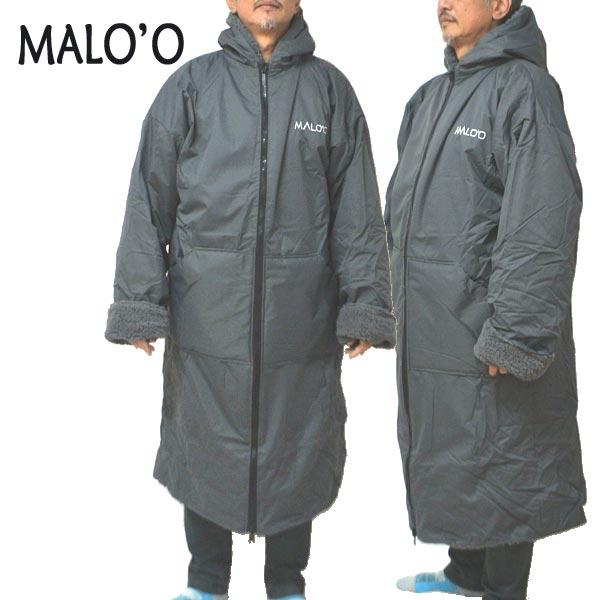 MALO'O WATER PARKA XL DARKGREY ウォーターパーカー 大き目 ワンサイズ ポンチョ 寒さ対策 サーフィン/SUP/スノーボード/キャンプなどのアウトドアに!! [返品、交換及びキャンセル不可]
