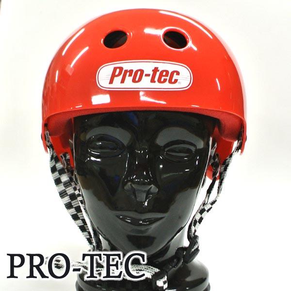 PRO-TEC/プロテック BACKY PRO SKATE HELMET GROSS RED スケートヘルメット SKATEBOARDS SK8用 大人用 [返品、交換及びキャンセル不可]