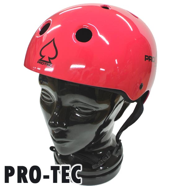PRO-TEC/プロテック CLASSIC SKATE HELMET GROSS PINK スケートヘルメット SKATEBOARDS SK8用 大人用 [返品、交換及びキャンセル不可]