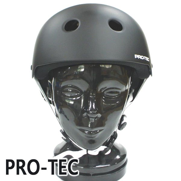 PRO-TEC/プロテック CLASSIC VOLCOM SKATE LUMINATOR HELMET MATTE BLACK スケートヘルメット SKATEBOARDS SK8用 大人用 [返品、交換及びキャンセル不可]