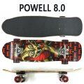 POWELL PERALTA/パウエルペラルタ コンプリートスケートボード MINI CAB DRAGON 2 BLACK 8.0 スケボー 完成品 SK8   [返品、交換及びキャンセル不可]