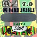 BLIND/ブラインド コンプリートスケートボード/スケボー OG DAMN BUBBLE RASTA 7.0 MIN 送料無料 SKATEBOARDS スケボー 完成品 SK8 子供用