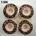 BLIND/ブラインド WHEEL 53mm GLITCH RED WHEEL/ウィール スケボー SK8 [返品、交換及びキャンセル不可]
