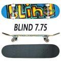 BLIND/ブラインド コンプリートスケートボード/スケボー MATTE OG LOGO FP BRIGHT RED/TEAL 7.75 SK8   [返品、交換及びキャンセル不可]
