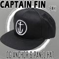CAPTAIN FIN/キャプテンフィン OG ANCHOR 6PANEL HAT BWH CAP/キャップ HAT/ハット 帽子 日よけ