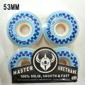 DARK STAR/ダークスター WHEEL 53mm CHECKER BLUE WHEEL/ウィール スケボー SK8 [返品、交換及びキャンセル不可]