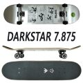 DARK STAR/ダークスター コンプリートスケートボード/スケボー FELIX NEWS SILVER 7.875 SK8  DARKSTAR [返品、交換及びキャンセル不可]