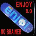 ENJOI/エンジョイ スケートボード/スケボーデッキ NO BRAINER HYB BLUE 8.0 DECK SK8