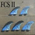 FCS2 FIN/エフシーエス2 MB PC CARBON BLUE LARGE TRI-QUAD-FIN LOST/ロスト MAYHEM/メイヘム MATT BIOLOS パフォーマンスコア カーボン トライクワッドフィン5本セット サーフィン用 送料無料