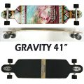 GRAVITY/グラビティー POP BARREL 41 ロングスケートボード/サーフスケート SK8   [返品、交換及びキャンセル不可]