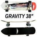 GRAVITY/グラビティー BEASTIE BOYS 38 JESSE PARKER  ロングスケートボード/サーフスケート SK8   [返品、交換及びキャンセル不可]