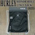 HURLEY/ハーレー HONOR ROLL CINCH SACK ANTHRACITE/WOLF GREY バックパック リュック