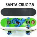 SANTA CRUZ/サンタクルズ コンプリートスケートボード/スケボー SCREAMING HAND COMP 7.5 SK8 スクリーミングハンド [返品、交換及びキャンセル不可]