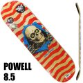POWELL PERALTA/パウエルペラルタ スケートボード デッキ RIPPER NATURAL/RED 8.5x32 DECK スケボーSK8[返品、交換及びキャンセル不可]