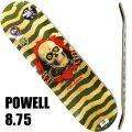 POWELL PERALTA/パウエルペラルタ スケートボード デッキ RIPPER NATURAL/OLIVE 8.75x32.95 DECK スケボーSK8[返品、交換及びキャンセル不可]