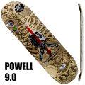 POWELL PERALTA/パウエルペラルタ スケートボード デッキ SKULL&SWORD NATURAL 9.05x32.095 DECK スケボーSK8[返品、交換及びキャンセル不可]