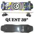 QUEST/クエスト QUEST DRIPS 39 INCH LONGBOARD ロングスケートボード/サーフスケート SK8   [返品、交換及びキャンセル不可]