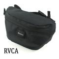 RVCA/ルカ ルーカ RVCA WAIST PACK 2 BLACK  鞄 ウエストバッグ かばん ミニバッグ [返品、交換及びキャンセル不可]