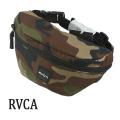RVCA/ルカ ルーカ RVCA WAIST PACK 2 WCM  鞄 ウエストバッグ かばん ミニバッグ [返品、交換及びキャンセル不可]