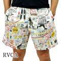 RVCA/ルーカ ESPO ELASTIC  BOARDSHORTS WHITE 男性用 メンズ サーフパンツ ボードショーツ サーフトランクス 海水パンツ 水着 海パン0156[返品、キャンセル不可]