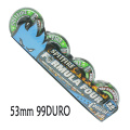SPIT FIRE/スピットファイヤー FORMULA FOUR CONICAL FULL SWRL GREEN/BLACK 53mm 99DURO スケートボード SPITFIRE WHEEL/ウィール スケボー SK8 コニカルシェイプ[返品、交換及びキャンセル不可]