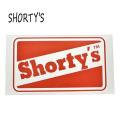 SHORTYS/ショーティーズ OG CLASSIC STICKER/ステッカー 18cm[返品、交換及びキャンセル不可]
