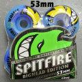 SPIT FIRE/スピットファイヤー BIGHEAD CODE BLUE SWIRL 53mm スケートボード WHEEL/ウィール スケボー SK8