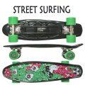STREET SURFING/ストリートサーフィン PLASTIC CRUISER BEACH BOARD MELTING ミニクルーザー スケートボード/スケボー 6.1x21.6 ミニ ショート SK8   [返品、交換及びキャンセル不可]