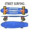 STREET SURFING/ストリートサーフィン PLASTIC CRUISER BEACH BOARD OCEAN BREEZE ミニクルーザー スケートボード/スケボー 6.3x22.5 ミニ ショート SK8   [返品、交換及びキャンセル不可]