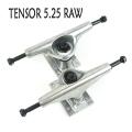 TENSOR/テンサー ALLOYS 5.25 RAW ALUM TRUCK トラック/TRUCK スケボーSK8 SKATEBOARD スケートボードトラック アルミ[返品、交換及びキャンセル不可]