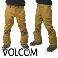 VOLCOM/ボルコム KLOCKER TIGHT PANT BUK メンズ 男性用 スノボ用パンツ スノボウェア スノーウェア 耐水 防寒 機能性 15000MM スノーボード SNOWBOARDS 20-21 [返品、交換及びキャンセル不可]