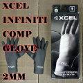 サーフグローブ XCEL/エクセル 2MM INFINITI COMP GLOVE BLACK サーフィン