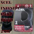 サーフキャップ XCEL/エクセル 2MM INFINITI COMP HOOD BLACK サーフィン