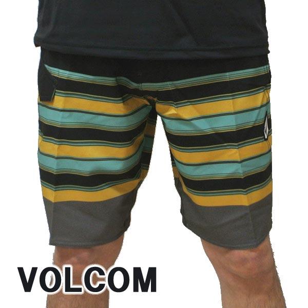 VOLCOM/ボルコム LIDO LINEY MOD 20 BOARDSHORTS BLK 男性用 サーフパンツ ボードショーツ メンズ 海水パンツ 水着 海パン MENS [返品、キャンセル不可]