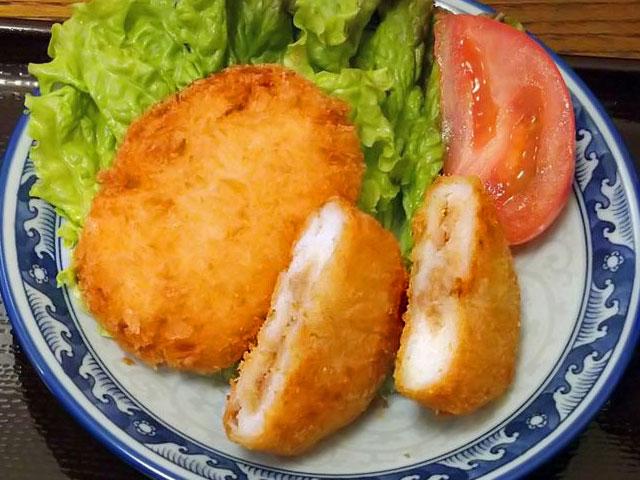 すや亀の肉みそコロッケ 化学調味料不使用 国産じゃが芋使用 お弁当