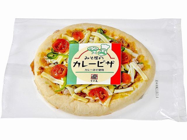 すや亀 カレー味噌ピザ ツナトマト