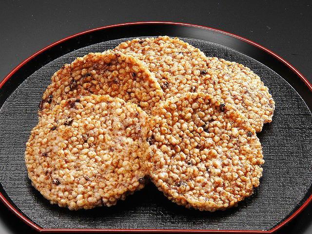 すや亀の五穀のつぶつぶ揚げ煎餅味噌味