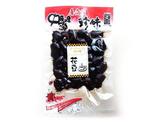 珈琲花豆 甘露煮 210g(香嵐渓珍味)