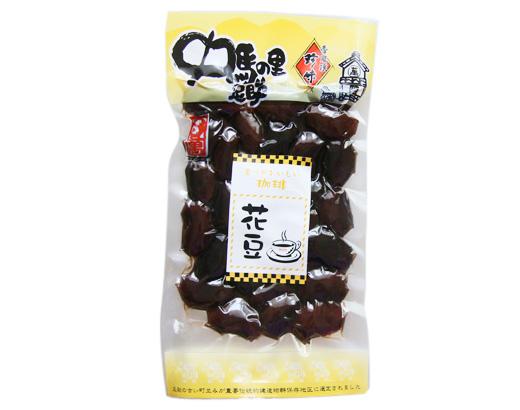 珈琲花豆 甘露煮140g(中馬)
