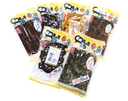 【送料無料】冬限定ギフト六色詰合せポッキリ3000円!!