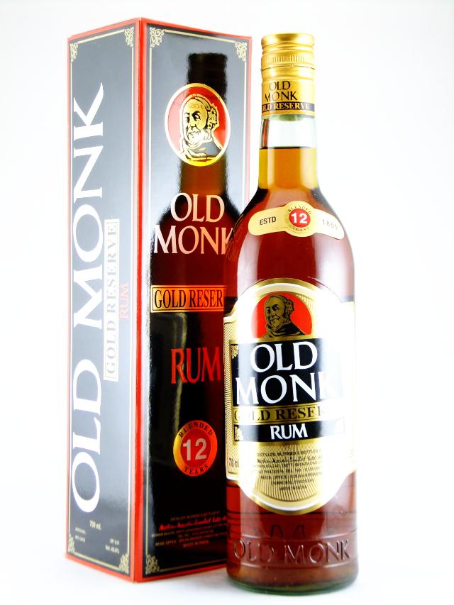 オールドモンク12年ゴールドリザーブ