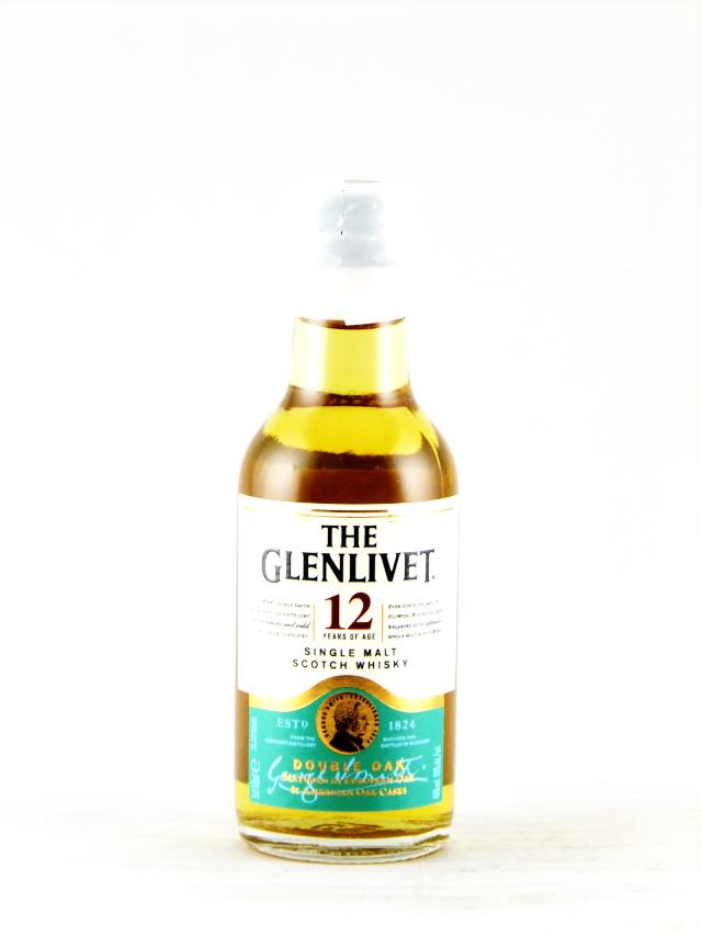 グレンリヴェット12年 ミニチュア瓶