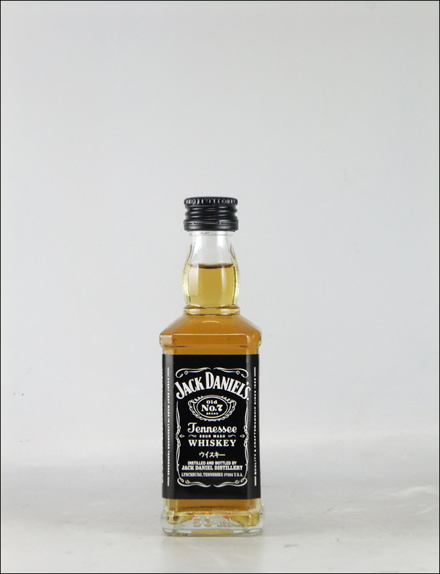 ジャックダニエル ブラック ミニチュア瓶