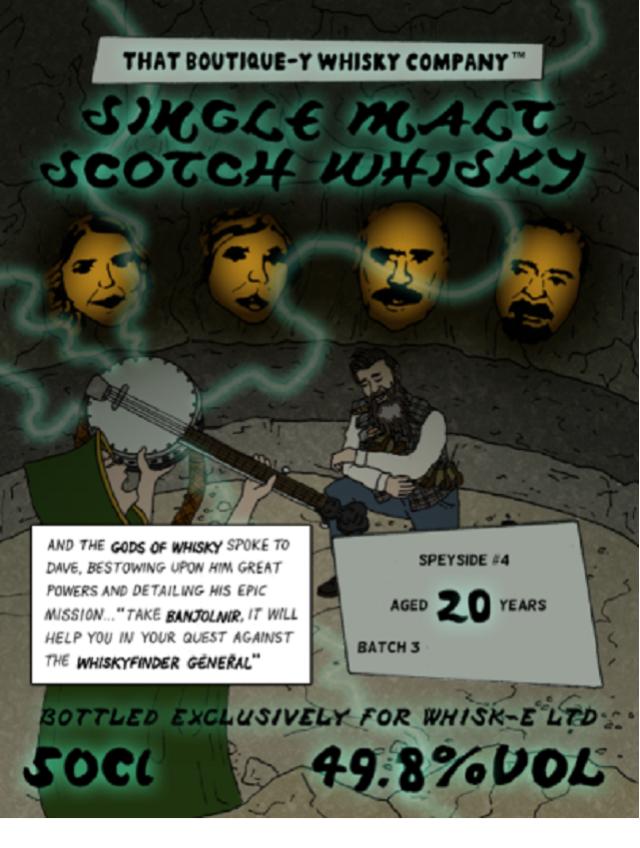 ブティックウイスキー スペイサイド#4バッチ3 20年