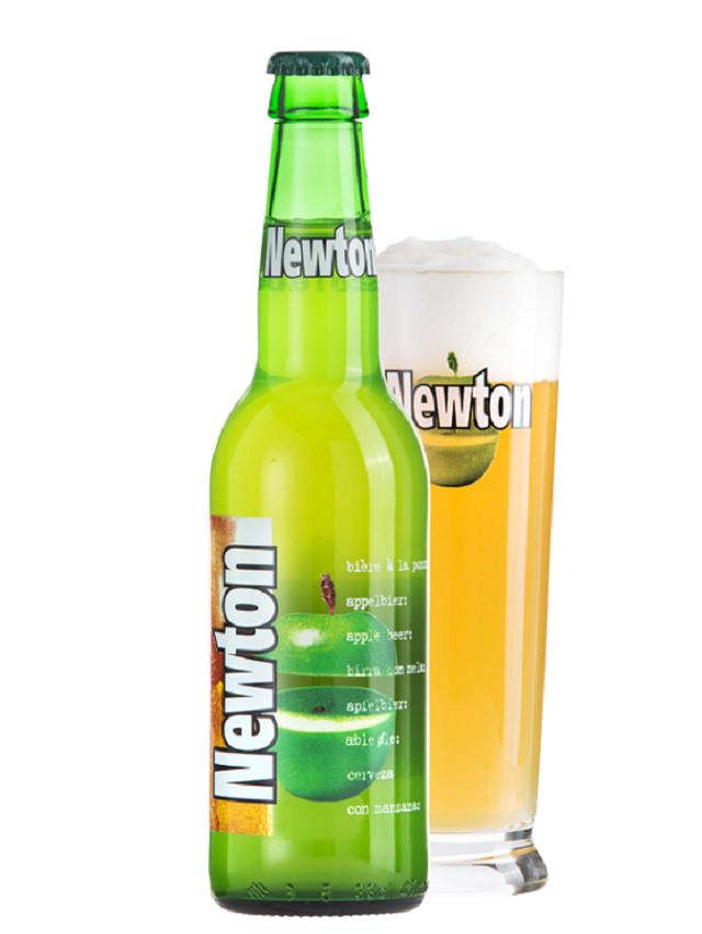ニュートン青りんごビール
