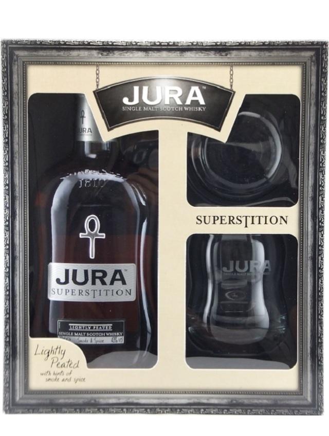 アイルオブジュラ スーパースティション グラス付きギフトボックス