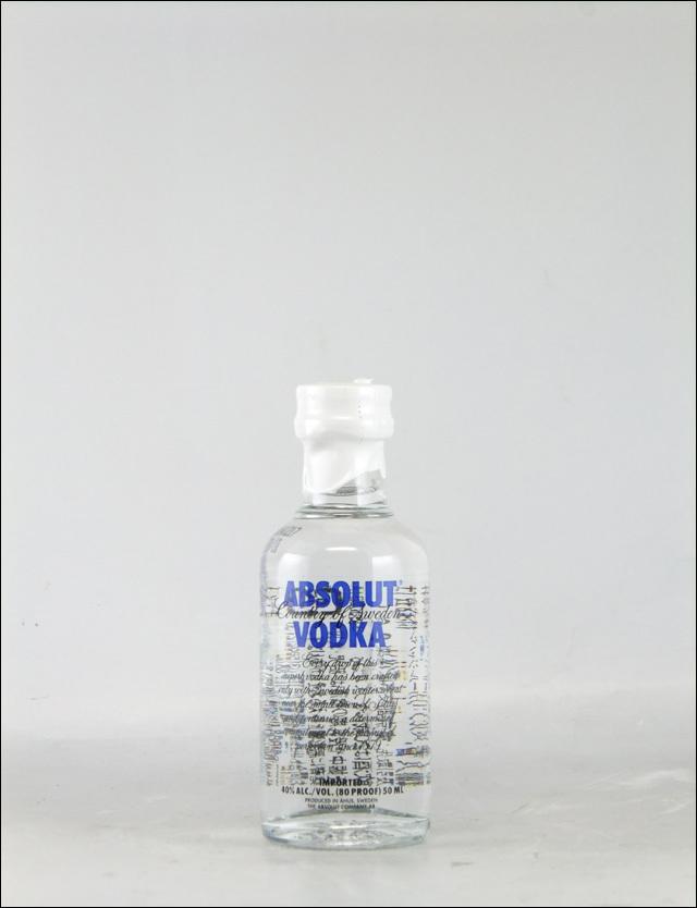 アブソルートウォッカ ミニチュア瓶